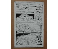 SCOOBY-DOO #45 3 Original Comic Book Ink Pages #19, 20 and 21 Art 2001 Rest in Pizza