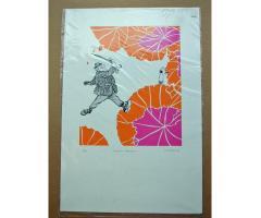 Len Norris RCA Set of 8 LTD ED Silkscreen Prints Vancouver Sun Cartoon Artist