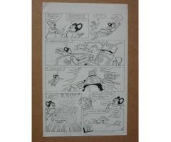 MIGHTY MOUSE Original Comic Book Art