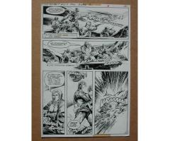 G. I. COMBAT #229 May 1981 Original Comic Book Art