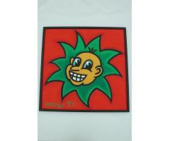 Joe Average RCA Baby Joe born in a Tomato Patch Painting