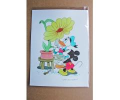 William Van Horn  Donald Duck and Mickey Mouse Original Painting